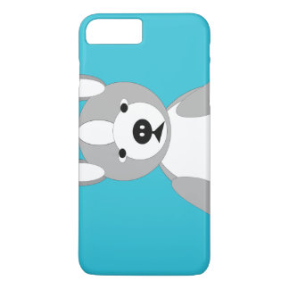 Cute cuddly and Lovable Boston Terriers iPhone 7 Plus Case