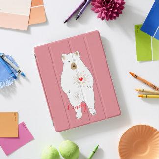 Cute Cuddly Big Teddy Bear Design iPad Cover