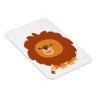 Cute Cuddly Cartoon Lion Flexible Magnet Magnets