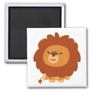 Cute Cuddly Cartoon Lion Magnet Magnet