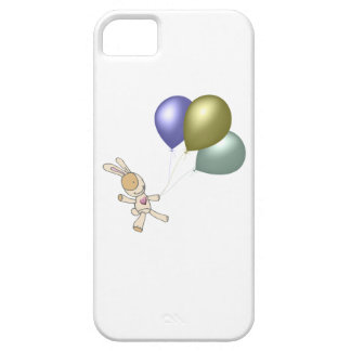 Cute Cuddly Toy and Balloons Art iPhone 5 Covers