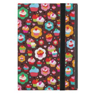 Cute Cup Cake Pattern iPad Mini Case