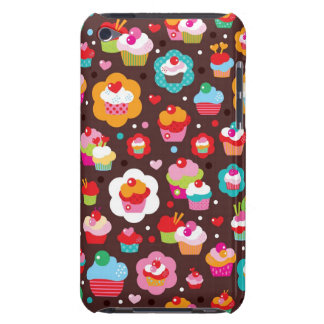 Cute Cup Cake Pattern iPod Touch Cover
