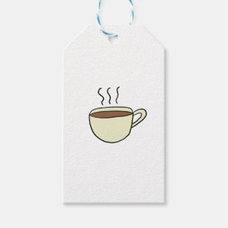 CUTE CUP OF COFFEE GIFT TAGS