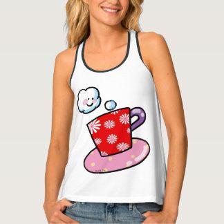 cute cup of coffee tank top