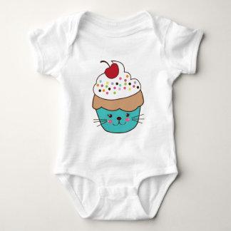 Cute Cupcake Baby Jumper Baby Bodysuit