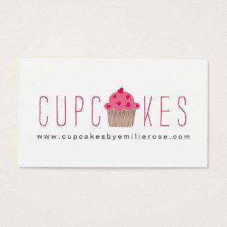 Cute Cupcake Business Card