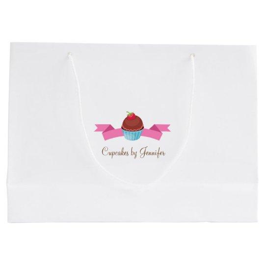 CUTE Cupcake Business Gift Bag