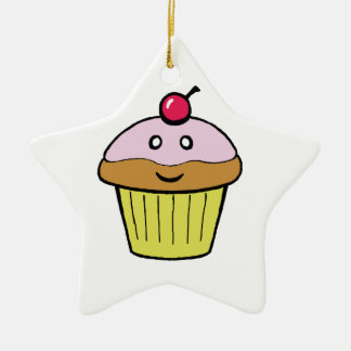 cute cupcake christmas ornament