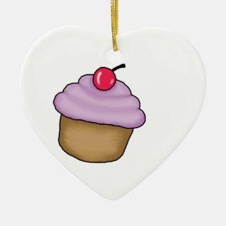 cute cupcake christmas ornament