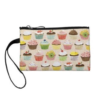Cute Cupcake Clutch Change Purses