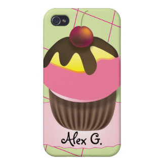 Cute Cupcake customizable iPhone 4 Case