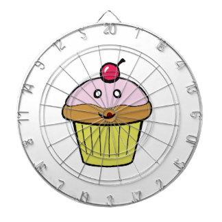 cute cupcake dartboard with darts