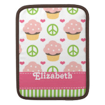 Cute Cupcake iPad Sleeve