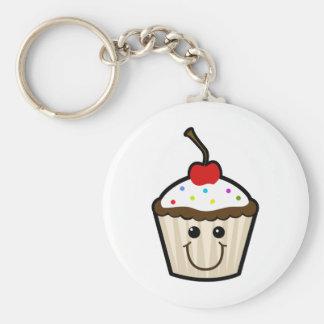 Cute Cupcake Key Ring