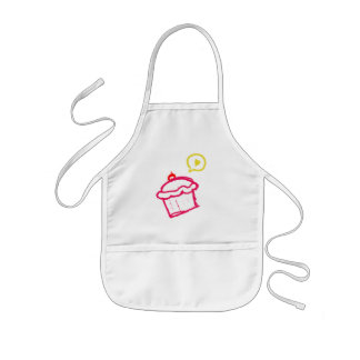 Cute Cupcake Love Kids Aprons