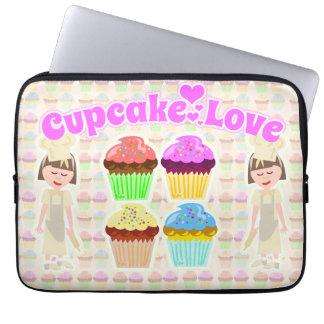 Cute Cupcake Lover Laptop Sleeves