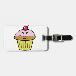 cute cupcake luggage tag