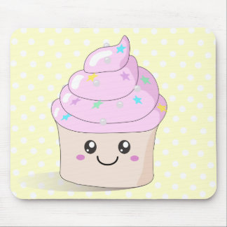 Cute Cupcake Mouse Mat