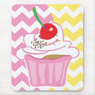 Cute cupcake mousepad