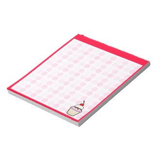 Cute Cupcake Notepad