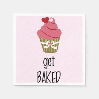 Cute Cupcake Paper Napkin