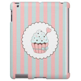 Cute Cupcake Pink & Mint Blue Design