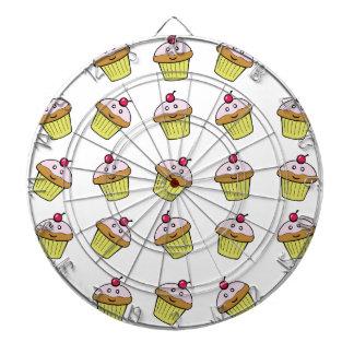 cute cupcake tile dartboard