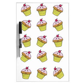 cute cupcake tile dry erase white board