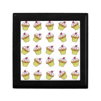 cute cupcake tile gift box