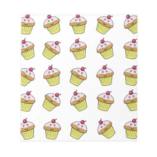 cute cupcake tile notepads