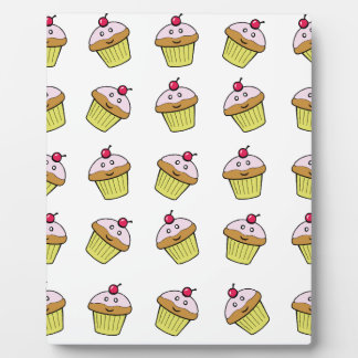cute cupcake tile plaque