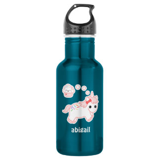 Cute Cupcake Unicorn 532 Ml Water Bottle