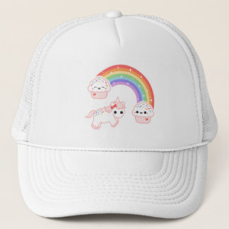 Cute Cupcake Unicorn Trucker Hat