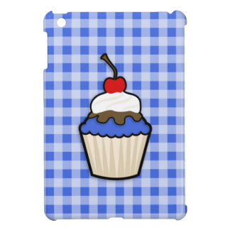 Cute Cupcake with Royal Blue Icing Cover For The iPad Mini