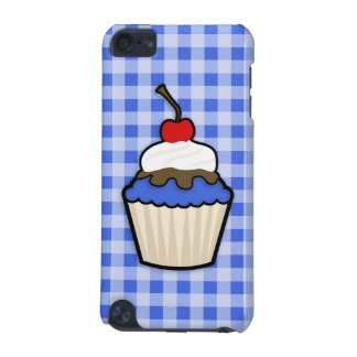Cute Cupcake with Royal Blue Icing iPod Touch 5G Cases
