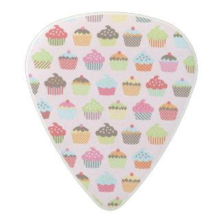 Cute Cupcakes Acetal Guitar Pick