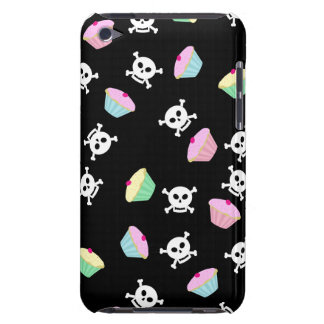 Cute Cupcakes and Skulls Emo iPod Touch Case