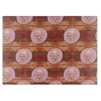 Cute Cupcakes Chopping Board