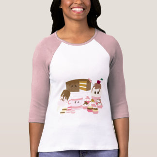 Cute cupcakes, icecreams T-shirt
