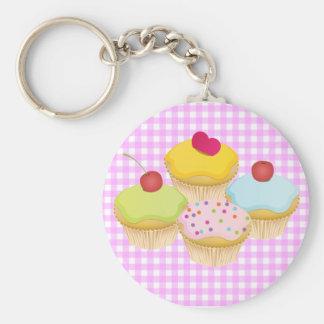 Cute Cupcakes Key Ring