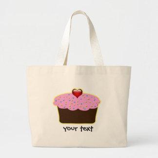 Cute Cupcakes Large Tote Bag