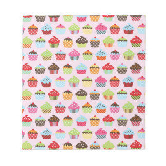 Cute Cupcakes Notepad
