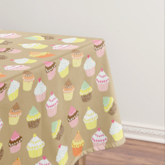 Cute Cupcakes Tablecloth