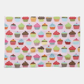 Cute Cupcakes Tea Towel