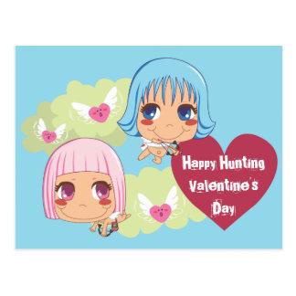 Cute Cupid Helpers Postcard