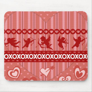 Cute Cupids and Hearts Valentine s Day Gifts Mousepads