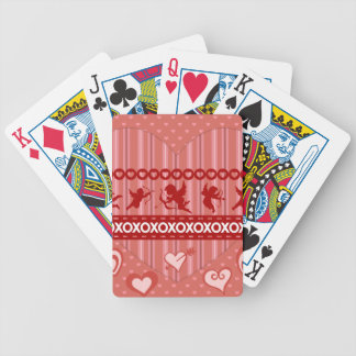 Cute Cupids and Hearts Valentine s Day Gifts Bicycle Card Deck