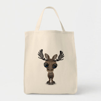 Cute Curious Moose with Big Eyes