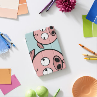 Cute Curious Pigs iPad Mini Cover